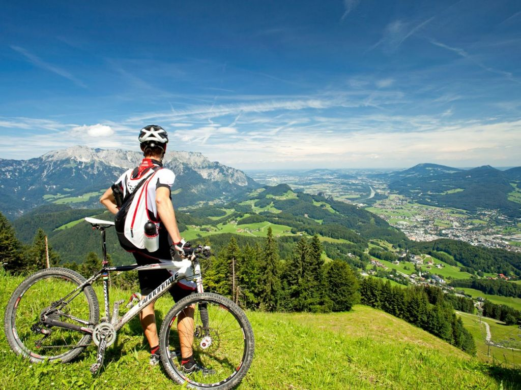 Mountainbiken am Zinkenkogel